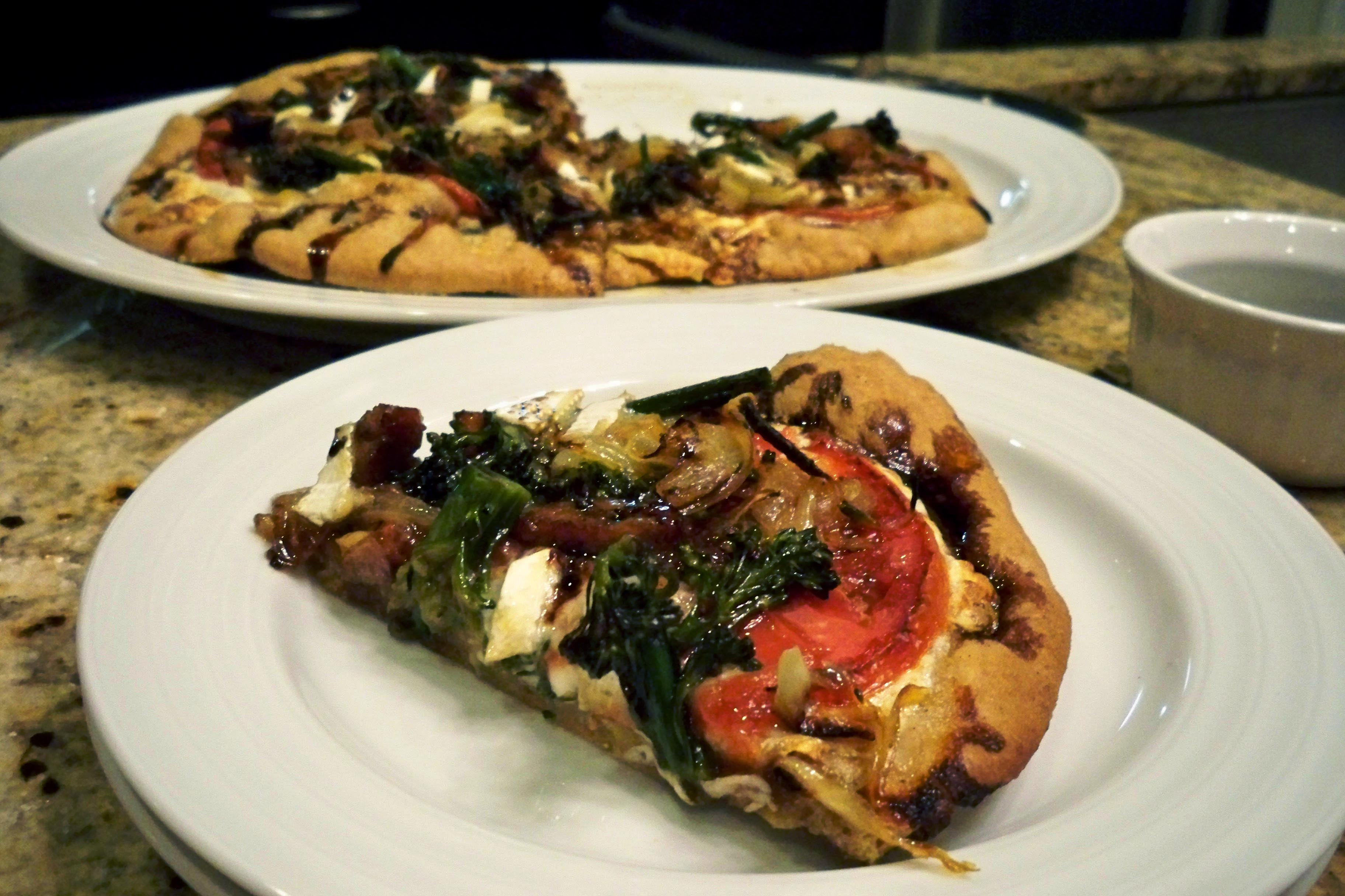 Brie and Broccolini Pizza - Cook Better Than Most Restaurants