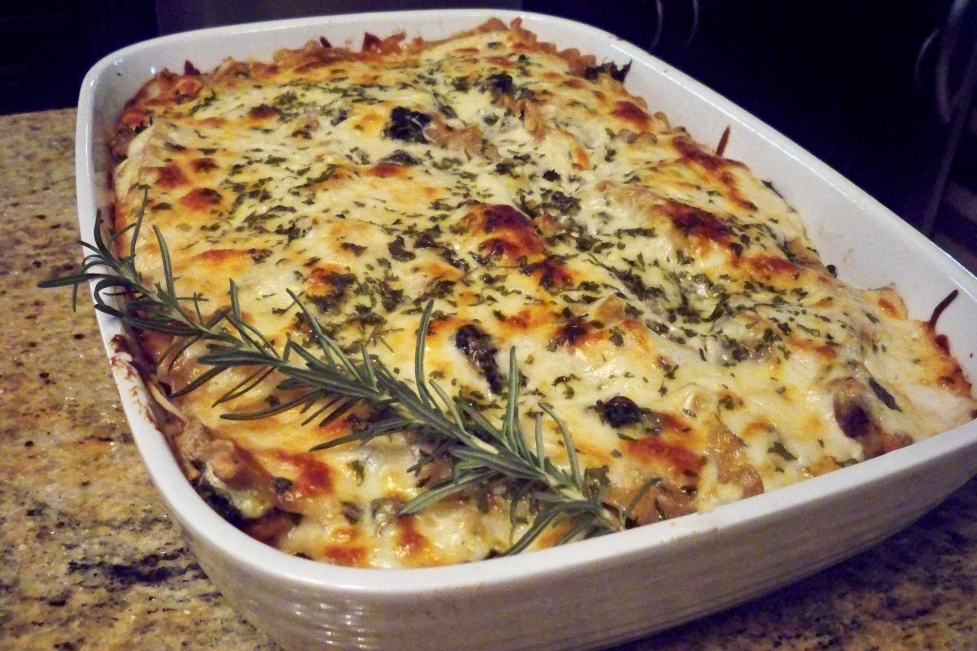 Turkey (or Chicken) Lasagna With Sage And Three Cheeses Recipes ...