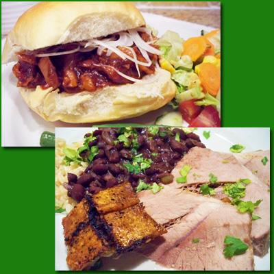 Fresh Picnic Ham Two Ways: Cuban Style & BBQ